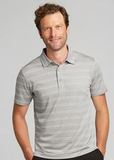 Forge Polo Heather Stripe Tailored fit Polished with Link Thumbnail