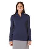 Women's Callaway 1/4-Zip Mock Pullover Peacoat Thumbnail
