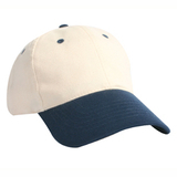 Structured Brushed Cotton Twill Cap Thumbnail