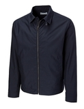 Men's Cutter & Buck Big & Tall WeatherTec Mason Full Zip Navy Blue Thumbnail