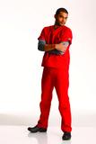 Unisex Scrub Pant Red Thumbnail