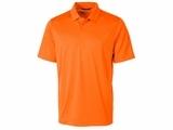 Men's Prospect Textured Stretch Polo Orange Burst Thumbnail