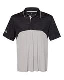 Adidas - Colorblocked Mélange Sport Shirt Black Melange with Mid Grey Melange Thumbnail