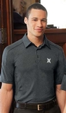 Fluid Men's Eperformance Melange Polo Thumbnail
