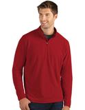 Antigua Glacier Men's 1/4 Zip Pullover Dark Red Thumbnail