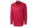 Clique by C & B Men's L/S Bergen Stain Resistant Twill Red Thumbnail