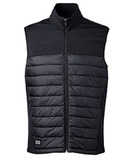 Dri Duck Men's Summit Puffer Body Softshell Vest Black Thumbnail