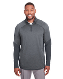 Under Armour Men's Qualifier Hybrid Corporate Quarter-Zip Stealth Gray Thumbnail