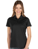 Antigua Women's Balance Polo Black Thumbnail