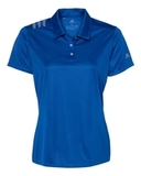 Women's 3-Stripes Shoulder Sport Shirt Collegiate Royal with Grey Three Thumbnail