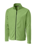 Clique by C & B Men's Summit Full Zip Microfleece Jacket Putting Green Thumbnail