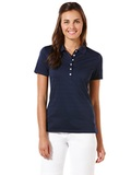 Women's Callaway Opti-vent Knit Polo Shirt Peacoat Thumbnail