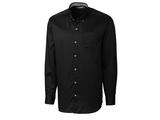 Clique by C & B Men's L/S Bergen Stain Resistant Twill Black Thumbnail