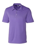 Cutter & Buck Men's DryTec Hamden Jacquard Polo Shirt Valor Thumbnail