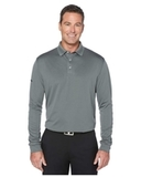 Callaway Long Sleeve Core Performance Polo Smoked Pearl Thumbnail