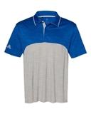 Adidas - Colorblocked Mélange Sport Shirt Collegiate Royal Melange with Mid Grey Melange Thumbnail