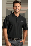 Greg Norman X-Lite 50 Solid Woven Polo Black Thumbnail