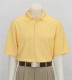 Greg Norman Play Dry Mesh Polo Core Yellow Thumbnail