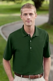 Greg Norman Play Dry Mesh Polo Forest Thumbnail