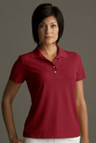 Greg Norman Women's Play Dry Performance Mesh Polo Cardinal Thumbnail
