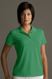 Greg Norman Women's Play Dry Performance Mesh Polo Cryptonite Thumbnail