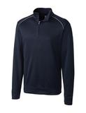 Cutter & Buck Men's Weathertec Ridge Pullover Navy Blue Thumbnail