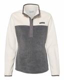 Columbia - Women's Benton Springs™ Half-Snap Pullover City Grey Heather with Chalk Thumbnail