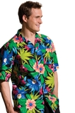 Hawaiian Camp Shirt Green Thumbnail