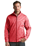 Golf Jacket Dark Red Heather Thumbnail