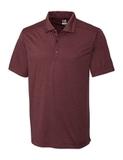 Cutter & Buck Men's DryTec Chelan Polo Shirt Bordeaux Heather Thumbnail
