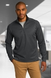 Heavyweight Vertical Texture 1/4-zip Pullover Thumbnail
