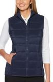 Women's UltraSonic Quilted Vest Peacoat Thumbnail