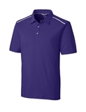 Cutter & Buck DryTec Fusion Polo College Purple Thumbnail
