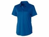 Ladies Prospect Textured Stretch Polo Tour Blue Thumbnail
