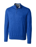 Cutter & Buck Men's Lakemont Half Zip Tour Blue Thumbnail