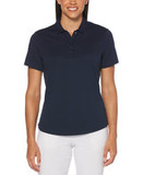 Jack Nicklaus Ladies Classic Performance Polo Peacoat Navy Thumbnail