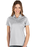 Antigua Women's Balance Polo White Thumbnail