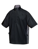Icon Windshirt Black with Charcoal Thumbnail