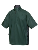 Icon Windshirt Forest Green with Black Thumbnail
