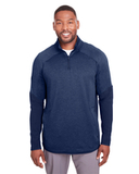 Under Armour Men's Qualifier Hybrid Corporate Quarter-Zip Midnight Navy Thumbnail