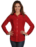 Women's Dynasty Dress Shirt Dark Red Thumbnail