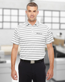 Under Armour Men's Tech Stripe Polo White Thumbnail