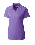 Women's Cutter & Buck DryTec Lacey Polo Shirt Valor Thumbnail