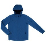 Women's Reebok Hooded Softshell Slate Blue Thumbnail