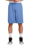 Sport-tek Long Posicharge Classic Mesh Short Carolina Blue Thumbnail