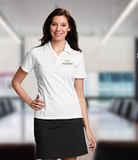 Women's Cutter & Buck DryTec Extended Sizes Genre Polo Shirt White Thumbnail