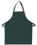 Inset Pocket Bib Apron Hunter Green Thumbnail