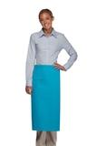Inset Pocket Bib Apron Turquoise Thumbnail