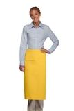 Inset Pocket Bib Apron Yellow Thumbnail