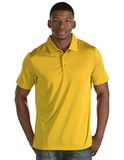 Antigua Quest Polo Shirt Gold with White Thumbnail